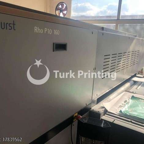 Used Durst Rho P10 160 digital printing machine - Like new year of 2015 for sale, price 70000 EUR EXW (Ex-Works), at TurkPrinting in Flatbed Printing Machines