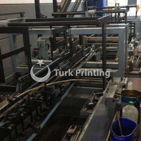 Satılık ikinci el 1990 model Vega 110cm 4-6 nokta yapıştırma makinasi 32000 USD EXW (Ex-Works) TürkPrinting'de! Katlama Yapıştırma kategorisinde.