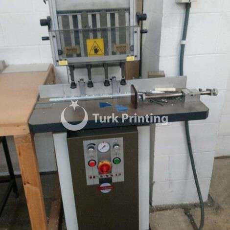 Used Iram 12 Paper Drill year of 2012 for sale, price ask the owner, at TurkPrinting in Paper Drilling Machines