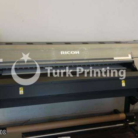 Used Ricoh 4160 l 160 cm digital printing machine year of 2018 for sale, price 58000 TL, at TurkPrinting in Large Format Digital Printers and Cutters (Plotter)