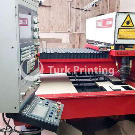 Used Elcede LCS-160 laser cutting year of 1990 for sale, price ask the owner, at TurkPrinting in Laser Cutter and Laser Engraving Machine