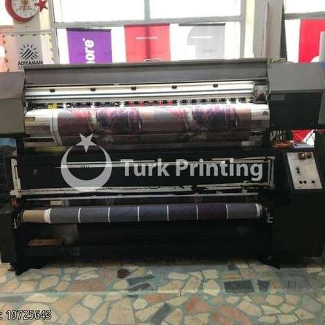 Used Xuli FLAG PRINTING MACHINE WITH FIXING year of 2010 for sale, price 41000 TL, at TurkPrinting in Large Format Digital Printers and Cutters (Plotter)