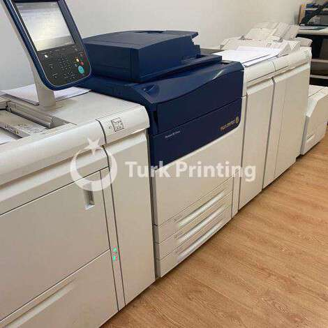 Used Xerox Versant 80 Digital Printing Machine year of 2015 for sale, price ask the owner, at TurkPrinting in High Volume Commercial Digital Printing Machine