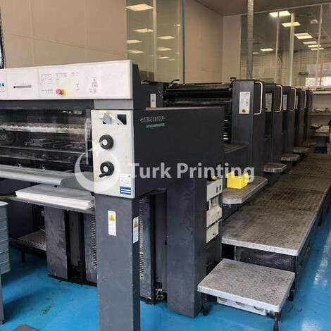 Used Heidelberg SM 74-5H Offset Printing Machine year of 2000 for sale, price ask the owner, at TurkPrinting in Used Offset Printing Machines