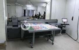 HT1600UV UV PRINTING MACHINE (Can print Roll - Plate.)
