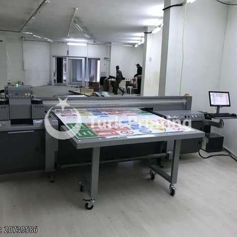 Used Handtop HT1600UV UV PRINTING MACHINE (Can print Roll - Plate.) year of 2016 for sale, price 260000 TL, at TurkPrinting in Large Format Digital Printers and Cutters (Plotter)