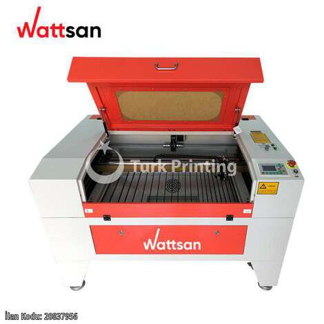New Wattsan 6090 LT LIFTING TABLE LASER CUTTING MACHINE 900X600 year of 2021 for sale, price ask the owner, at TurkPrinting in Laser Cutter and Laser Engraving Machine