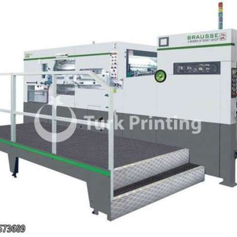 New Brausse 1050 SEAutomatic Die Cutter Machine year of 2014 for sale, price ask the owner, at TurkPrinting in Die Cutters