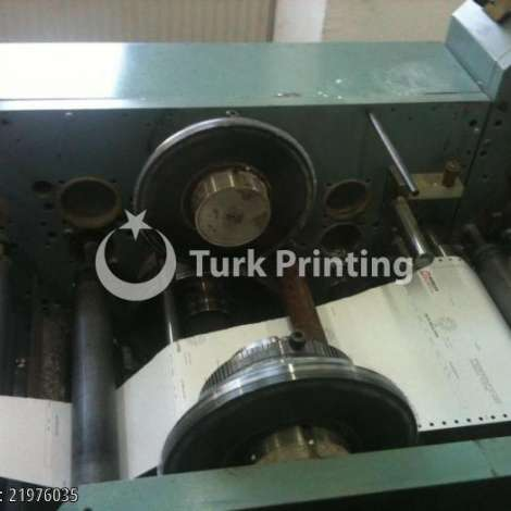 Used Edelmann FORM PRINTING MACHINE 2 COLORS 11 year of 1990 for sale, price 18000 USD, at TurkPrinting in Continuous Form Printing Machines