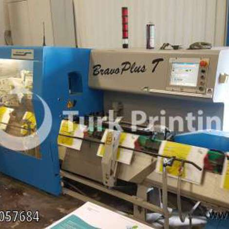 Used Muller Martini Bravo Plus Saddle Stitching Machine year of 2007 for sale, price ask the owner, at TurkPrinting in Saddle Stitching Machines