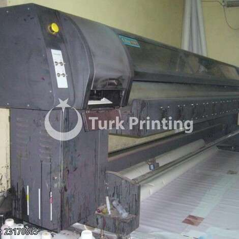 Used Wit-Color 320 Eco Solvent, Xaar Proton 382 35 pl 8 heads year of 2010 for sale, price 9000 TL, at TurkPrinting in Large Format Digital Printers and Cutters (Plotter)