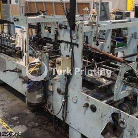 Satılık ikinci el 1989 model Vega 1330 Katlama Yapıştırma Makinası fiyat sorunuz TürkPrinting'de! Katlama Yapıştırma kategorisinde.