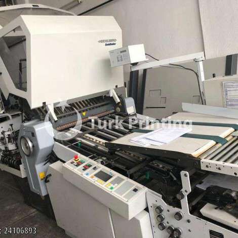 Used Stahl / Heidelberg Stahlfolder KD 78-6 KZ folder year of 2001 for sale, price 21000 EUR, at TurkPrinting in Folding Machines