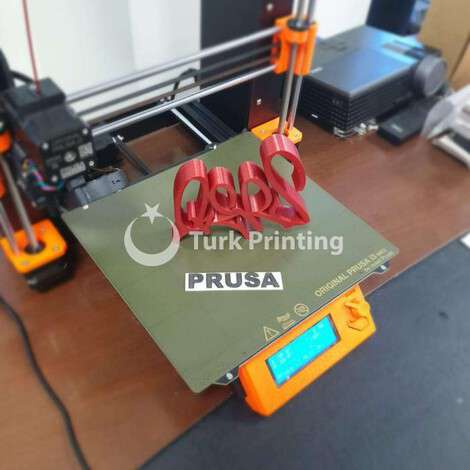 New Prusa i3 MK3S 3D Printer year of 2020 for sale, price 1 TL CIF (Cost Insurance Freight), at TurkPrinting in 3D Printer