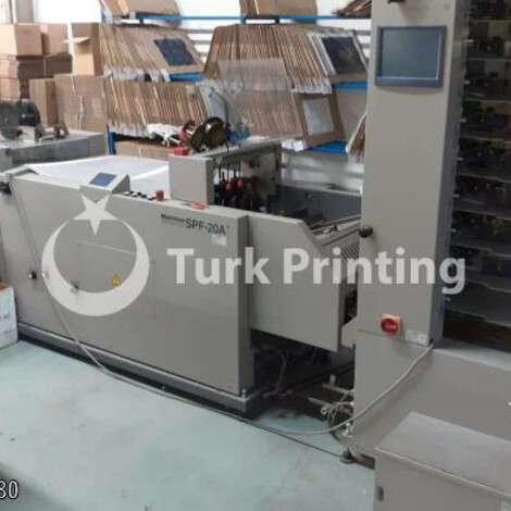 Satılık ikinci el 2002 model Horizon Vac 100a kitapçık yapma hattı 9000 EUR FOT (Free On Truck) TürkPrinting'de! Kitapçık Yapma kategorisinde.