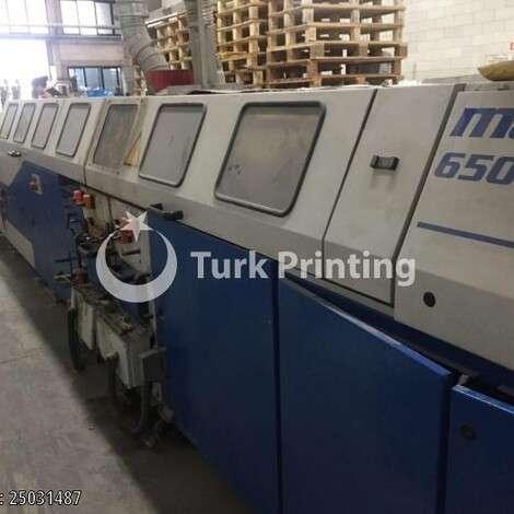 Satılık ikinci el 2001 model Wohlenberg MASTER 6501 Kapak takmahattı fiyat sorunuz TürkPrinting'de! Kapak Takma Makinaları kategorisinde.