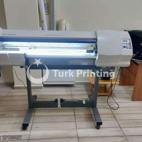 Used Roland DG SP300V PRINT-CUT year of 2010 for sale, price 28000 TL, at TurkPrinting in Large Format Digital Printers and Cutters (Plotter)