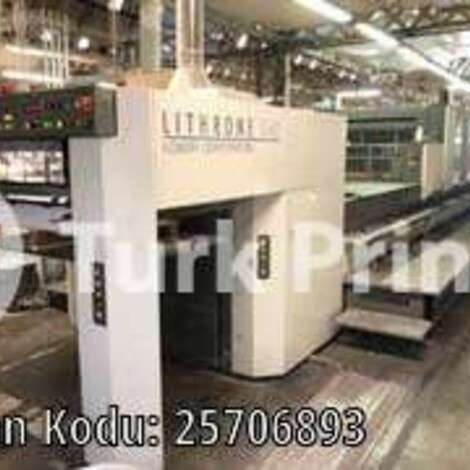 Used Komori LS-540+LX (H) offset printing press year of 2007 for sale, price ask the owner, at TurkPrinting in Used Offset Printing Machines