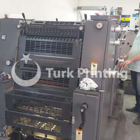 Satılık ikinci el 2002 model Heidelberg Printmaster 2 renk baldwinli 25000 EUR TürkPrinting'de! Ofset Baskı Makinaları kategorisinde.