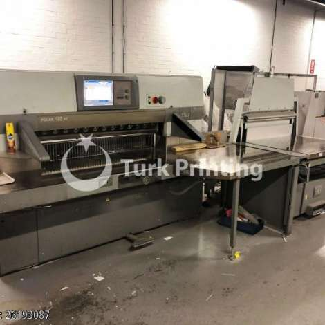 Used Polar 137-XT Paper Cutting Machine - 2006 year of 2006 for sale, price ask the owner, at TurkPrinting in Paper Cutters - Guillotines