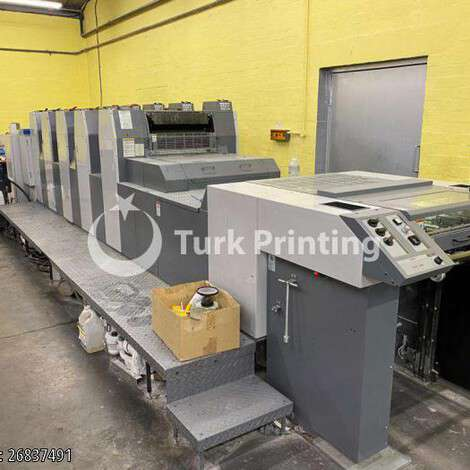Used Ryobi 525 GX Offset Printing Press year of 2007 for sale, price ask the owner, at TurkPrinting in Used Offset Printing Machines