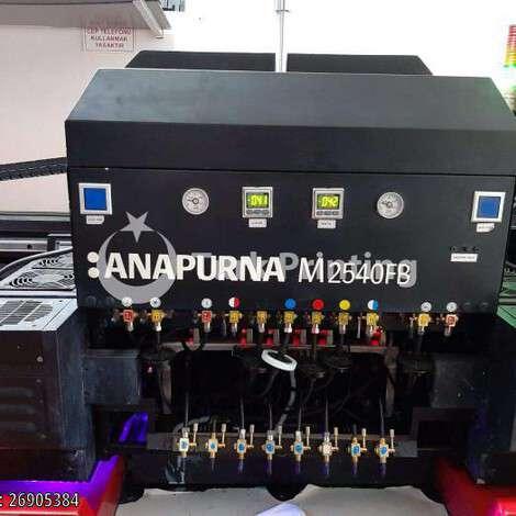 Satılık ikinci el 2012 model Agfa Anapurna M2540FB UV Baskı Makinası 65000 TL TürkPrinting'de! UV Baskı Makinası (Flatbed) kategorisinde.