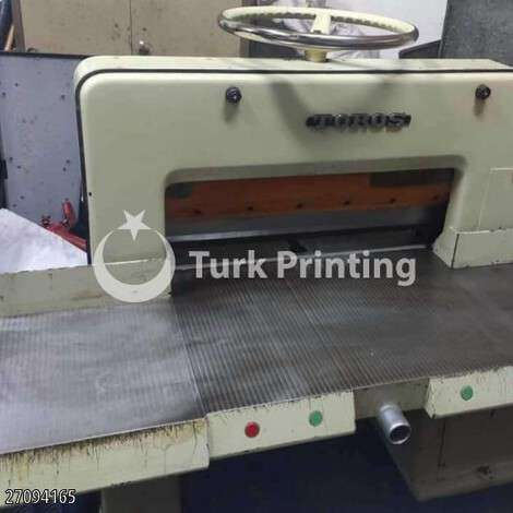 """Used Toros 72"""" Guillotine clean from the second owner year of 2000 for sale, price 8500 TL, at TurkPrinting in Paper Cutters - Guillotines"""