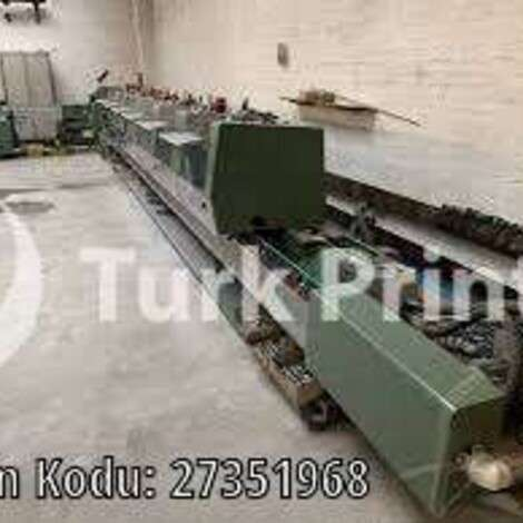Used Muller Martini BRAVO saddle stitching line year of 1998 for sale, price ask the owner, at TurkPrinting in Saddle Stitching Machines