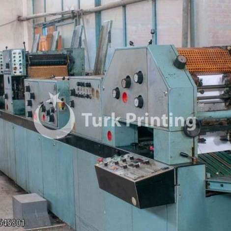 Used Edelmann FormAll V38 year of 1994 for sale, price 10000 EUR EXW (Ex-Works), at TurkPrinting in Continuous Form Printing Machines
