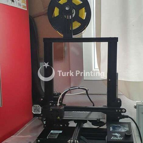 Used Creality Ender 3 3D printer year of 2021 for sale, price ask the owner, at TurkPrinting in 3D Printer