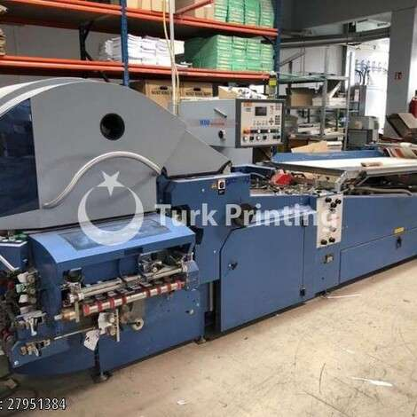 Used MBO model k800 2 folding machine year of 2010 for sale, price ask the owner, at TurkPrinting in Folding Machines
