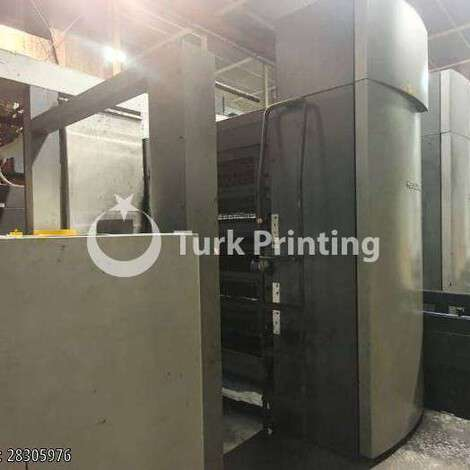 Used Heidelberg HARRIS M600 B24 16 pages A4 year of 2003 for sale, price ask the owner, at TurkPrinting in Heatset Web Offset Printing Machines