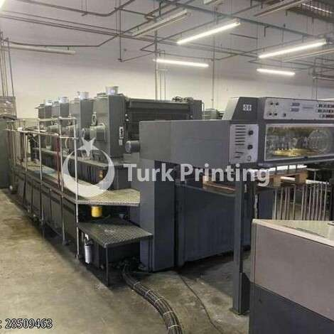 Used Heidelberg Sm 102V Straight Offset Printing Press year of 1991 for sale, price ask the owner, at TurkPrinting in Used Offset Printing Machines