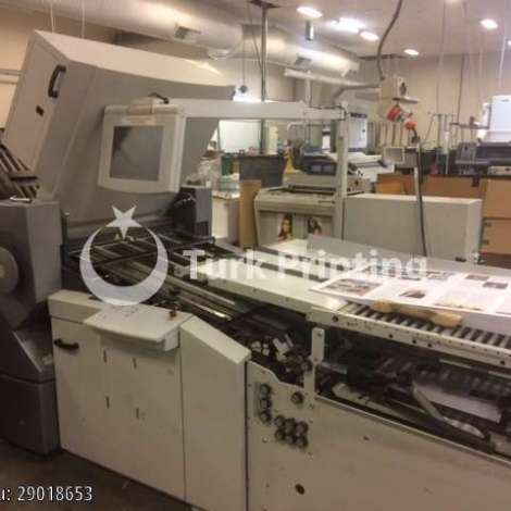 Used Stahl / Heidelberg Stahlfolder RFH 82 644 SBP Automatic folding machine year of 2005 for sale, price 25000 EUR EXW (Ex-Works), at TurkPrinting in Folding Machines
