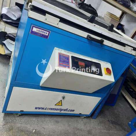 Used Ceren Plate exposure machine year of 2020 for sale, price ask the owner, at TurkPrinting in Plate Burners (platemakers)