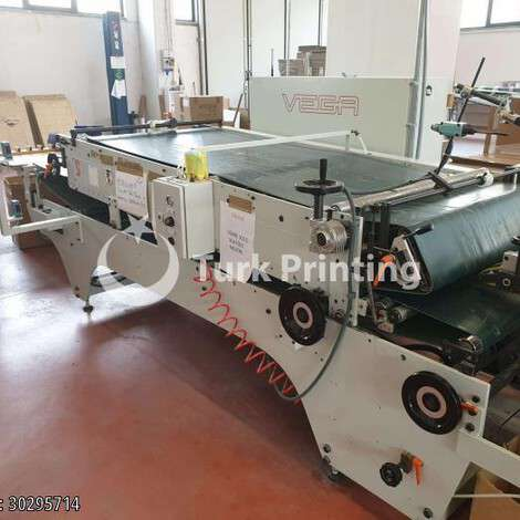 Used Vega Mira 102 Folder Gluer  year of 2011 for sale, price ask the owner, at TurkPrinting in Folding - Gluing