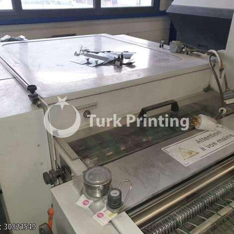Used Stahl / Heidelberg Stahlfolder Th 82 Folding Machine year of 2010 for sale, price 17000 EUR FOT (Free On Truck), at TurkPrinting in Folding Machines