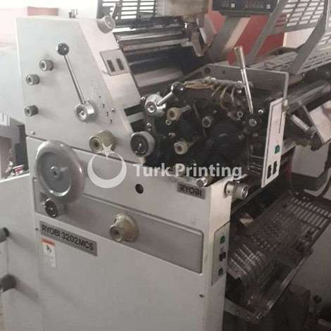 Used Ryobi 3202MCS Continuous Form with Gatherer Machine year of 2005 for sale, price ask the owner, at TurkPrinting