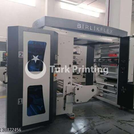 New Birlik Flex 2 Color 80 Cm Flexo Printing Machine year of 2020 for sale, price ask the owner, at TurkPrinting in Flexo and Label Printing Machines