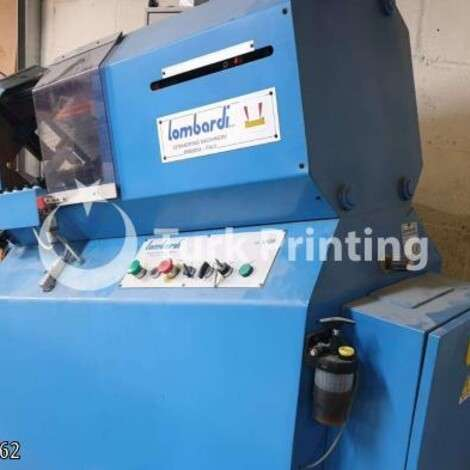 Used Lombardi LH23 label punching machine year of 2004 for sale, price ask the owner, at TurkPrinting in Die Cutters