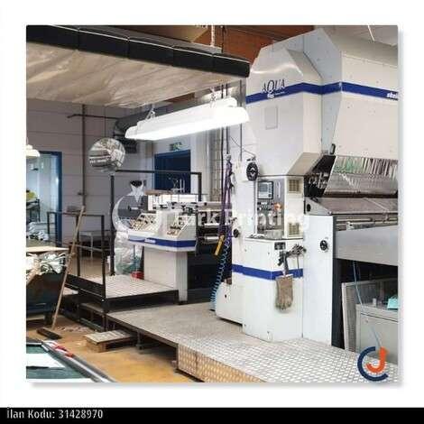 Satılık ikinci el 2006 model Steinemann Aqua 110 Water-based & thermal laminator fiyat sorunuz TürkPrinting'de! Selefon - Sıvama - Kaplama kategorisinde.
