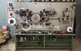 4 RENK etiket baskı makinası ve klişe
