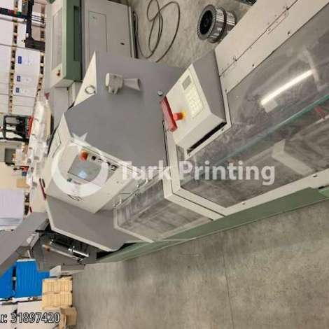 Used Muller Martini OPTIMA SADDLE STITCHING LINE year of 2000 for sale, price ask the owner, at TurkPrinting in Saddle Stitching Machines