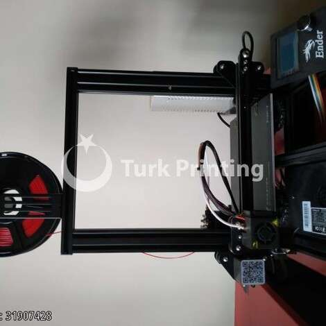 Used Creality Ender3 3D Printer year of 2019 for sale, price 2100 TL EXW (Ex-Works), at TurkPrinting in 3D Printer