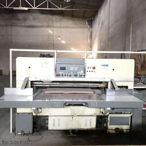 Used aoer Paper Cutting Machine 166 year of 2008 for sale, price 19000 EUR, at TurkPrinting in Paper Cutters - Guillotines