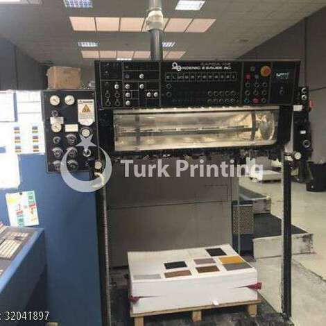 Used KBA Koenig & Bauer Rapida 104-5 CX year of 1998 for sale, price ask the owner, at TurkPrinting in Used Offset Printing Machines