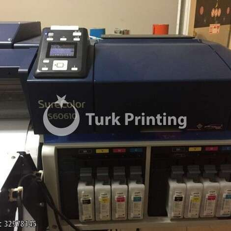 Used Epson SureColor SC-S60610 year of 2016 for sale, price 14000 EUR EXW (Ex-Works), at TurkPrinting in Large Format Digital Printers and Cutters (Plotter)