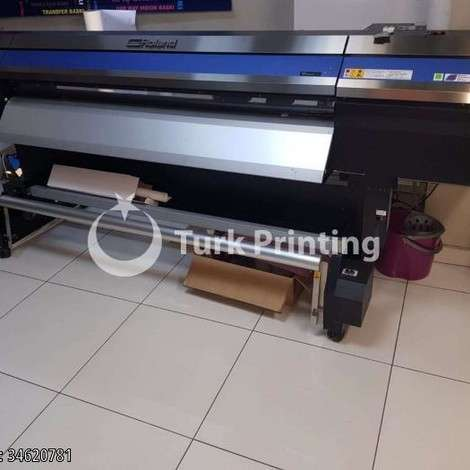 Used Roland DG soljet pro4 xr-640 Digital Printing Machine year of 2015 for sale, price 110 TL EXW (Ex-Works), at TurkPrinting in Large Format Digital Printers and Cutters (Plotter)