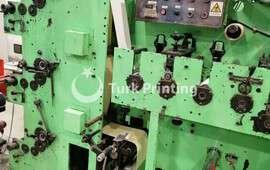 1 renk Etiket Baskı Makinesi