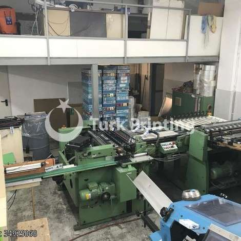 Used Ziegler & Herzinger Playing Card Cutting Machine year of 1991 for sale, price 130000 EUR EXW (Ex-Works), at TurkPrinting in Other Post Press Machines